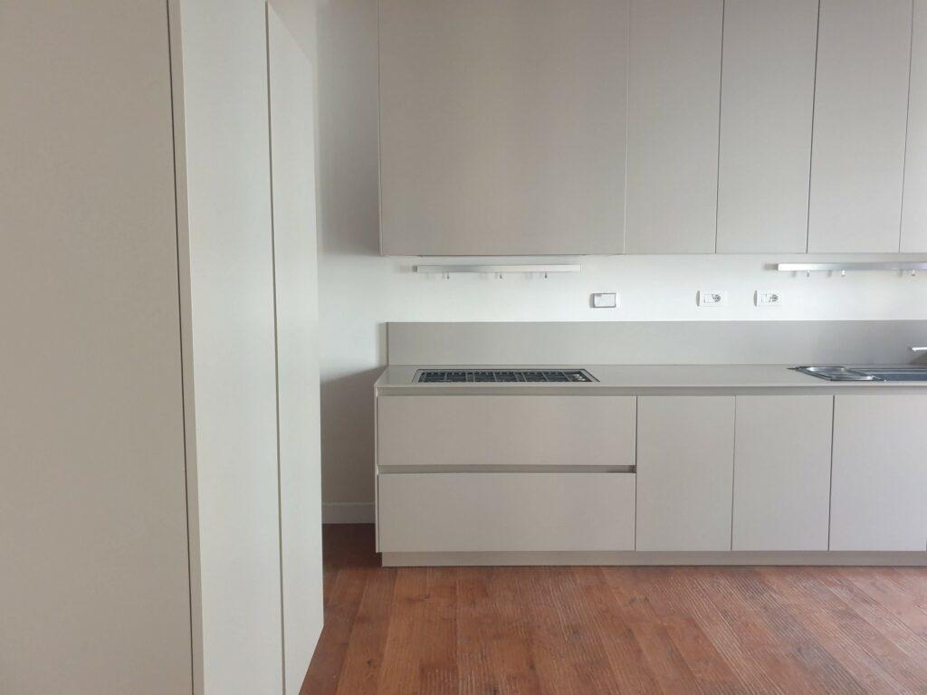 cucina bianca moderna